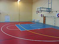 Спортивное покрытие TARAFLEX™ MULTI-USE 5.0 для универсальных игровых залов, гандбола, фитнеса, баскетбола, те