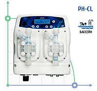 Cтанція дозування та контролю для басейнів eTwin PDE 0206 Cl-pH