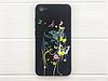 """Чехол-накладка с 3D стеклом """"Бабочки"""" для Xiaomi Redmi 5"""