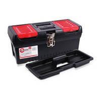 """Ящик для инструментов с металлическими замками, 16"""""""" 396x216x164мм INTERTOOL BX-1016"""