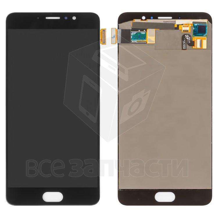 Дисплейный модуль для мобильного телефона Meizu Pro 6 Plus, черный, or
