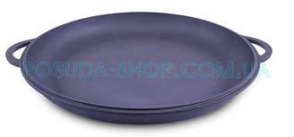Крышка-сковорода чугунная Ситон, не эмалированная. Диаметр 230 мм.