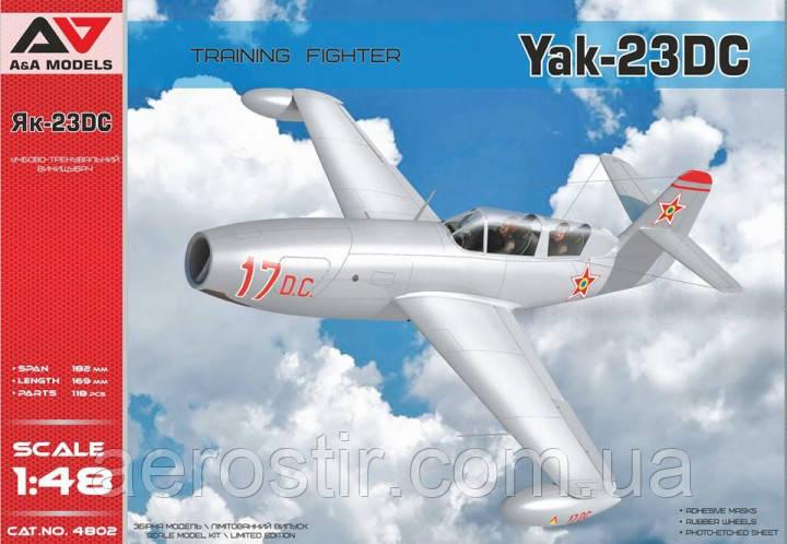 Yak-23 D.C. 1/48  A&A Models 4802