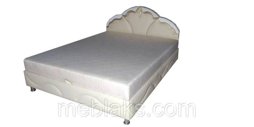 Кровать ниша+ мягкое изголовье  Мира(1,6м х 2,0м)   Udin, фото 2