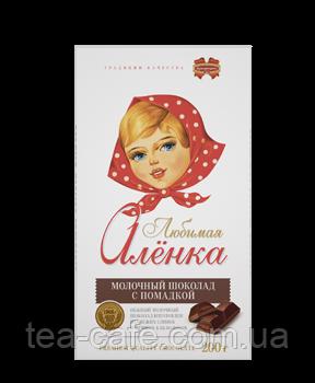 """Шоколад молочний з помадкою """"Улюблена Оленка"""" Комунарка 100 гр."""