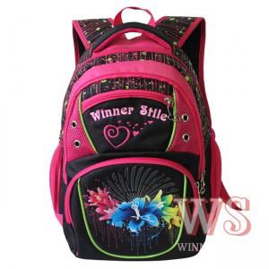 Рюкзак Winner stile 153 ортопедический школьный для 1-4 классов для девочек 34 см * 15 см * 40 см, фото 1