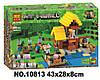 Конструктор Bela 10813 Minecraft Майнкрафт Фермерский коттедж 560 дет
