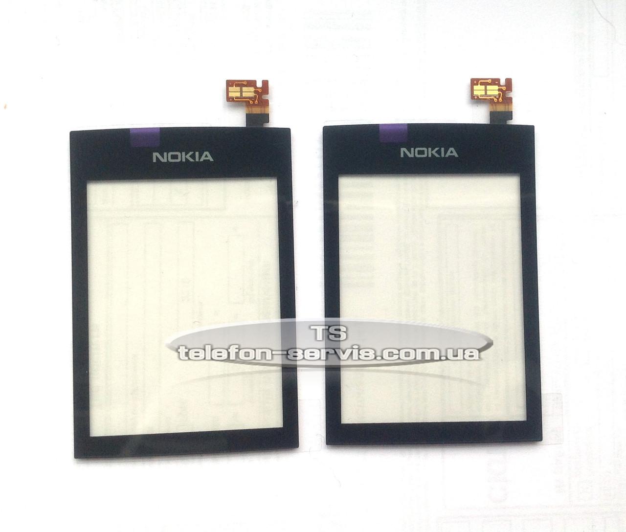Сенсорный экран Nokia Asha 300, чёрный