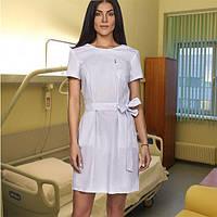 """Жіночий  медичний   халат  """"Ірма""""   (батист)"""