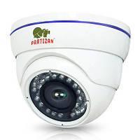 Купольная антивандальная IP камера Partizan IPD-5SP-IR POE, 5 Мп