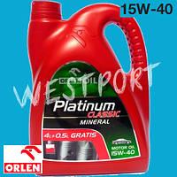 Масло моторное Orlen Platinum Classic Mineral 15W-40 4.5л.