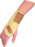 Повязка медицинская эластичная лучезапястная, с жесткой вставкой, ELAST 0210