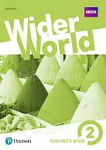 Wider World 2 Teacher's Book with DVD-ROM / Книга для учителя