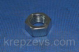 Гайка шестигранная М6 ГОСТ 5927-70, DIN 934