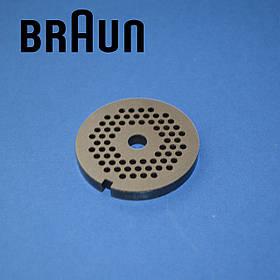 Сетка 3 мм для мясорубки Braun 67000908