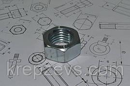 Гайка М8 шестигранная DIN 934, ГОСТ 5927-70
