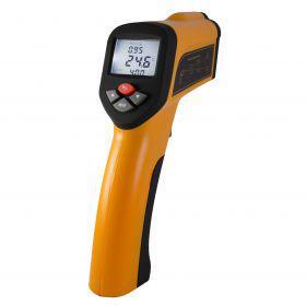 Walcom HT-6889 Пірометр (-50…+1600 ºС), 50:1, змінний коефіцієнт емісії