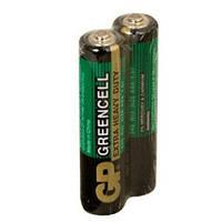 Батарейка ААА (минипальчиковая) GP 1шт 24G-S2 солевая R03, AAA