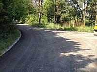 Отсыпка дорог асфальтной крошкой