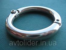 Нержавеющее разъемное кольцо с фиксирующим винтом.
