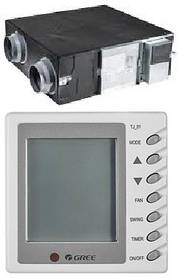 Gree FHBQ-D10-K (1000 м3/год) ПВУ з рекуперацією тепла
