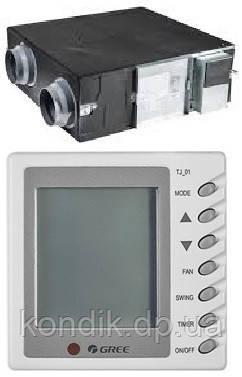 Gree FHBQ-D3.5-K (360 м3/год) ПВУ з рекуперацією тепла, фото 2