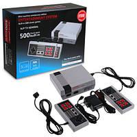Приставка игровая консоль Mini Game Console 500 Games + 2 Controllers