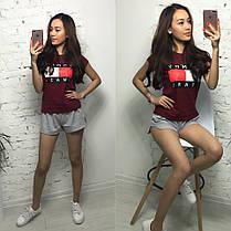 Костюм футболка + шорты, размеры s m l xl Турция, фото 2