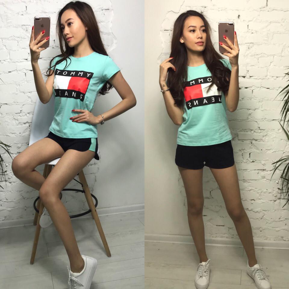 Костюм футболка + шорты, размеры s m l xl Турция