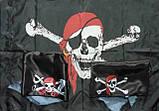 Фирменные флаги, флаги для улиц, пиратские флаги, флажки с логотипом, фото 8