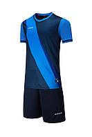 Футбольная форма Europaw 018 т.сине-голубая