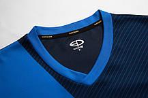 Футбольная форма Europaw 018 т.сине-голубая, фото 2