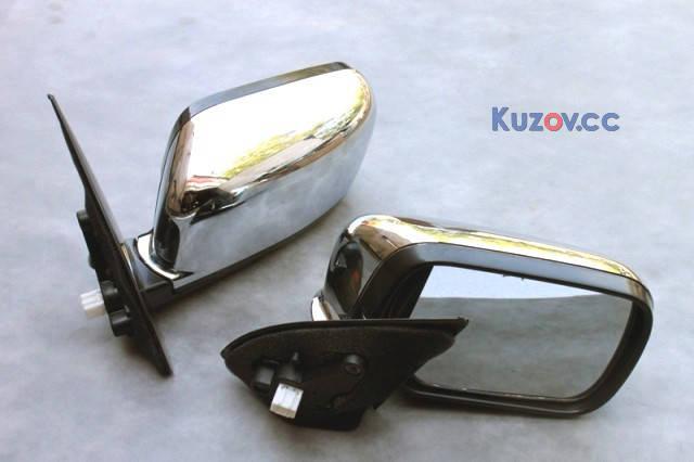 Зеркало боковое Mitsubishi Outlander 03-09 левое хром. (кроме XL) (FPS) , фото 2