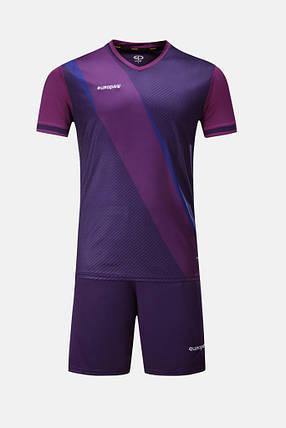 Футбольная форма Europaw 018 фиолетовая, фото 2