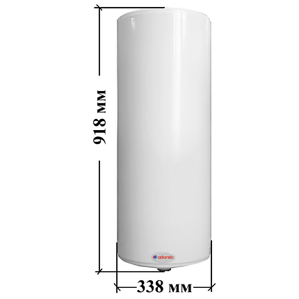 Бойлер Atlantic O'Pro Slim PC 50 л (водонагреватель), фото 2