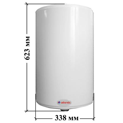 Бойлер Atlantic O'Pro Slim PC 30 л (водонагреватель), фото 2