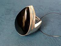Шикарное кольцо - черный оникс в серебре. Кольцо с черным ониксом., фото 1
