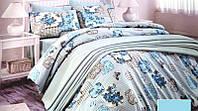 Двуспальный комплект  постельного белья ÇAPA HOME евро, мята