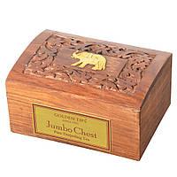 Чай Golden Tips Jambo Chest(Даржилінг) Індія,дерев'яна коробка, 200 гр.