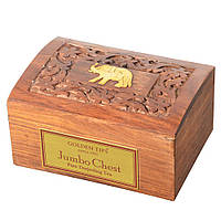 Чай Golden Tips Jambo Chest(Даржилинг) Индия,деревянная коробка, 200 гр.