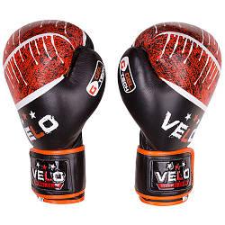 Боксерские перчатки Velo microfiber, кожа.