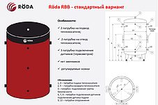 Буферная емкость «Roda» RBB-3000, фото 2
