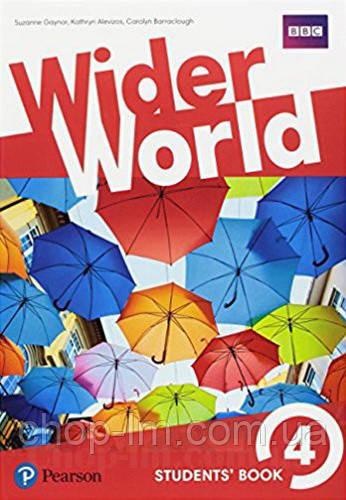 Учебник Wider World 4 Students' Book