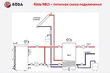 Буферная емкость «Roda» RBLS-1500 (с нижним змеевиком), фото 2