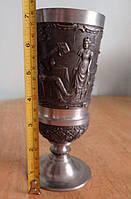 Оловянный бокал (винтаж, Германия), фото 1