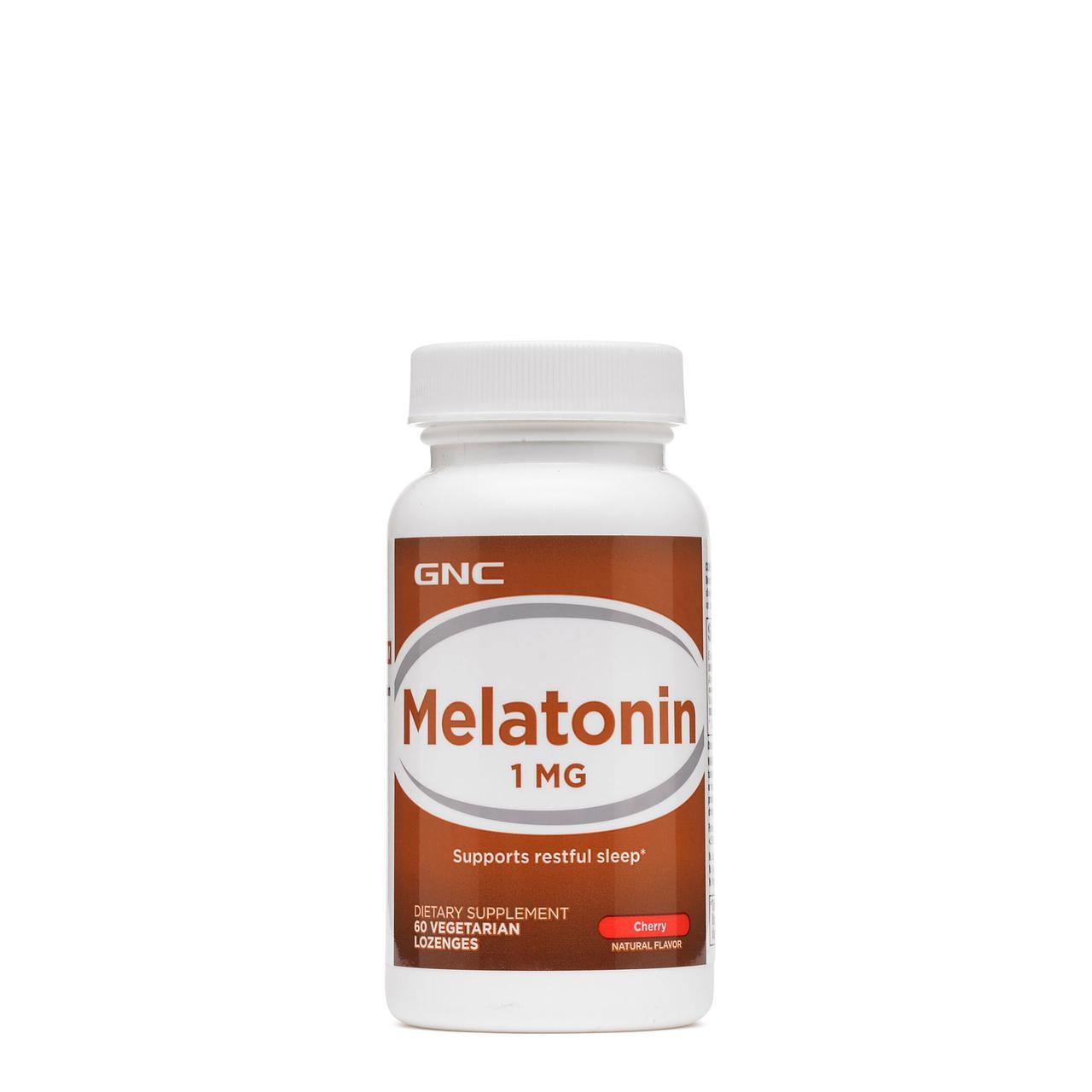 Улучшение сна GNC Melatonin 1 Sublingua 60 tabs
