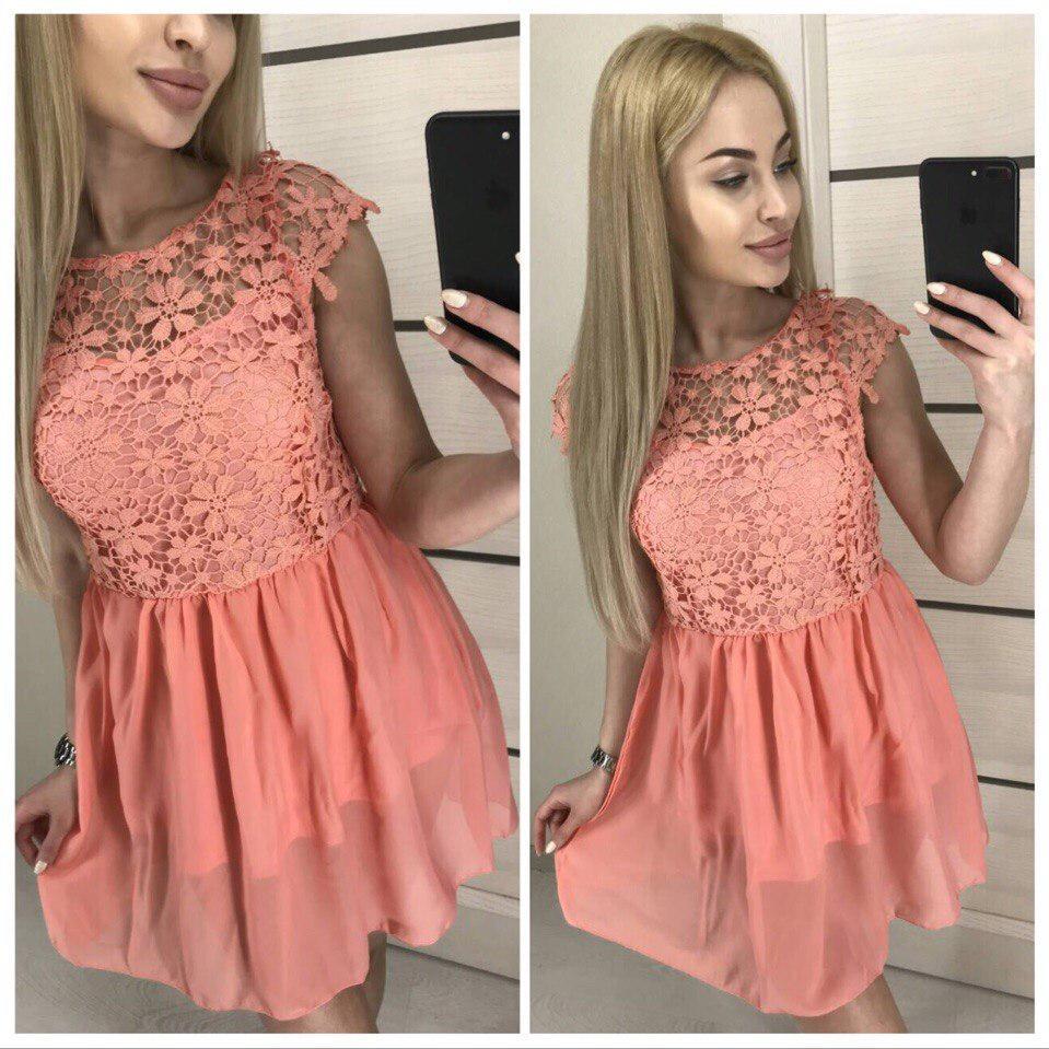 c0dd67ef3cb Красивое Женское Платье Из Кружева — в Категории