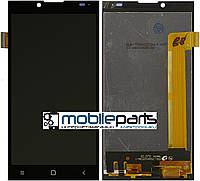 Оригинальный Дисплей (Модуль) + Сенсор (Тачскрин) для Prestigio MultiPhone Grace Q5 5506 Duo (Черный)