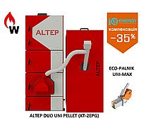 Пелетный  котел Альтеп Duo  Uni Pellet 21 кВт (KT-2EPG) + Eco-Palnik Uni-MAx, фото 1