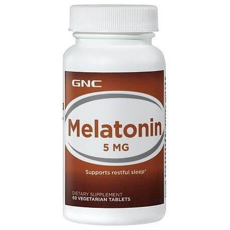 Витамины GNC Melatonin 5 mg 60 tabs